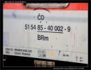 BRm 830, 51 54 85-40 002-9, DKV Čes. Třebová, 21.03.2009, Olomouc, nápisy na voze