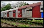 60 54 89-29 043-9, Areál ŽOS Praha-Bubny, Revolution Train, 09.05.2013, část vozu