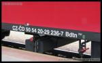Bdtn 757, 50 54 20-29 236-7, DKV Praha, Praha hl.n., 31.01.2013, označení