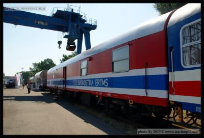 MV TÚDC, 99 54 93-62 002-6, CRD, 18.06.2013 Ostrava, Ex Postmw, pohled na vůz