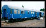 Postw, 50 54 90-40 351-3, Czech Rail Days Ostrava 19.6.2003, scan starší fotografie, pohled na vůz