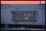 94 54 1 560 007-7, DKV Brno, 23.08.2012, Sokolnice-Telnice, litinová tabulka