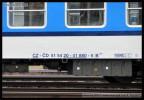 B 249, 51 54 20-41 880-5, DKV Plzeň, označení na voze, Olomouc hl.n., 27.02.2013