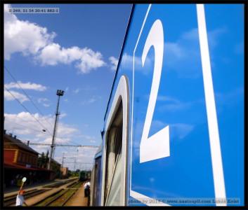 B 249, 51 54 20-41 882-1, DKV Plzeň, 15.08.2013, R 1545
