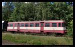 Btx 761, 50 54 29-29 367-1, DKV Olomouc, ex 020 259-8, Železniční společnost Tanvald, Tanvald, 14.08.2012, pohled na vůz