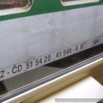 B 249, 51 54 20-41 549-6, označení, Ústí nad Labem hl.n., 21.1.2013