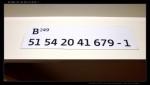 B 249, 51 54 20-41 679-1, DKV Plzeň, označení ve voze, R 440, 23.03.2012