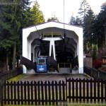 Lanovka Ještěd, kabina č.2, stanice Horní Hanychov, 12.12.2015 1c