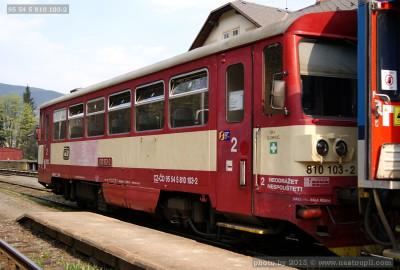 95 54 5 810 103-2, DKV Olomouc, Jeseník, 21.04.2011