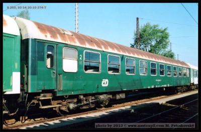 B, 50 54 20-10 374-7, Vsetín, 20.9.2003, foto Petrskovský, scan