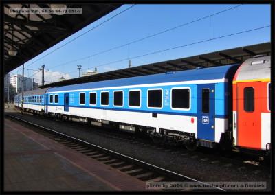 Bbdgmee 236, 61 54 84-71 051-7, DKV Plzeň, Praha hl.n., 21.08.2013