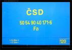 Fa 5054 90-40 171-6, nápisy na voze II, Dvůr Králové n.Labem, scan starší fotografie