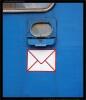 Fa 5054 90-40 171-6, poštovní schránka, Dvůr Králové n.Labem, scan starší fotografie