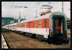 Měřícící vůz MVPTZ96, EC 172 Vindobona 2003 - Čes. Třebová