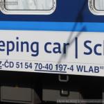 WLAB 822, 51 54 70-40 197-4, DKV Praha, v pronájmu Wagon Slovakia, Košice, 2.9.2014, označení