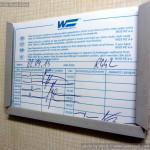 WLAB 822, 51 54 70-40 215-4, DKV Praha, R442 Šírava, v pronájmu Wagon Slovakia Košice, 2.9.2014, detail o
