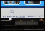 Bdmtee 265, 50 54 20-82 276-7, DKV Praha hl.n., 07.10.2013, označení vozu
