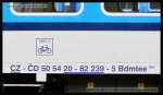 Bdmtee 266, 50 54 20-82 239-5, DKV Praha, Praha hl.n., 07.10.2013, označení