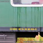 60 54 00-80 024-5, VÚKV, pův. ABa 2003, JUMA, Kolín, 25.06.2014, detail