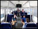 60 54 89-29 001-1, doprovodný vůz k měřícímu vozu AŽD, Czech Rail Days Ostrava, 18.6.2014, interiér