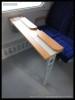 60 54 89-29 001-1, doprovodný vůz k měřícímu vozu AŽD, Czech Rail Days Ostrava, 18.6.2014, stolek