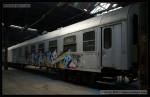 60 54 99-29 008-4, preventivní vlak, Areál Ateco Bubny, 09.05.2013, pohled na vůz