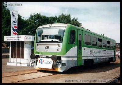 812 613-8, Czech Rail Days 2002 Ostrava, scan starší fotografie