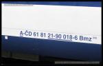 Bmz 232, 61 81 21-90 018-6, DKV Olomouc, Pardubice hl.n., 10.04.2014, označení