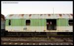 Ds 952, 50 54 95-40 043-2, DKV Čes. Třebová, zničený, Hradec Králové hl.n., 30.09.2013, část vozu