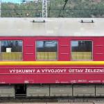 60 56 99-29 017-3, ŽSR, Merací vozeň GPK, pův. 09-40 017, Žilina, 09.04.2014, nápisy