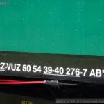 AB 350, 50 54 39-40 276-7 VÚŽ, označení AB350, Česká Kamenice, 18.6.2016