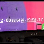 D, 63 54 99-29 208-7, označení na voze, Vláček Hraček, výstava ŽKV H.Brod., 24.06.2011