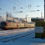 835 001-9, Česká Třebová, 23.01.2004, pohled na vozy