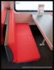 ARbmpz 892, 73 54 85-91 003-9, DKV Praha, detaily interiéru, Czech Rail Days Ostrava, 18.06.2014, sedadlo v rest.