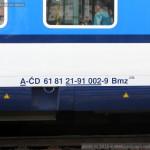 Bmz 235, 61 81 21-91 002-9, DKV Praha, Pardubice hl.n., 5.4.2015