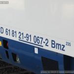 Bmz 235, 61 81 21-91 067-2, DKV Praha, Olomouc hl.n., 12.8.2015