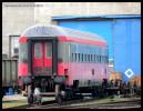 Bmz (Bmee 234), 50 81 21-70 597-6, Nymburk, areál DPOV Nymburk, 12.10.2013, čelo vozu