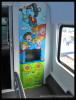 Bmpz 893, 73 54 20-91 003-7, DKV Praha, detaily interiéru, Czech Rail Days Ostrava, 18.06.2014, dětské kino