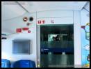 Bmpz 893, 73 54 20-91 003-7, DKV Praha, detaily interiéru, Czech Rail Days Ostrava, 18.06.2014, oddílové dveře