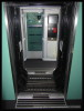 Bmpz 893, 73 54 20-91 003-7, DKV Praha, detaily interiéru, Czech Rail Days Ostrava, 18.06.2014, přechod