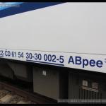 ABpee 347, 61 54 30-30 002-5, DKV Brno, NDŽ Břeclav 2014, 27.09.2014, označení