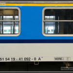 A 149, 51 54 19-46 092-0, DKV Plzeň, 16.05.2011, Praha Hl.n., nápisy na voze