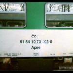 Apee 148, 51 54 10-70 003-0, DKV Praha, nápisy na voze, scan starší fotografie