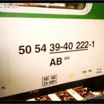 AB 350, 50 54 39-40 222-1, DKV Brno, Čes.Třebová, 24.9.2005, nápisy na voze, scan starší fotografie
