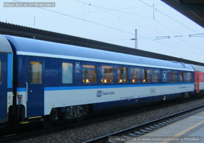 WRmz 817, 61 81 88-90 208-3, DKV Praha, Pardubice hl.n., 29.3.2015