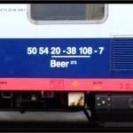 Beer 273, 50 54 20-38 108-7, DKV Olomouc, 27.05. 2009,  označení na voze
