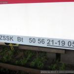 Bt, 50 54 21-19 054-3, ZSSK, Nové Zámky, 13.11.2013