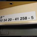 B 256, 50 54 20-41 258-5, označení ve voze, Hanušovice, R 1402, DKV Olomouc
