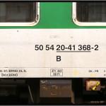 B 256, 50 54 20-41 368-2, DKV Brno, 05.04.2011, Praha Smíchov, nápisy na voze
