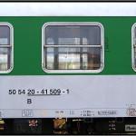 B 256, 50 54 20-41 509-1, DKV Olomouc, 05.04.2011, Praha Smíchov, nápisy na voze